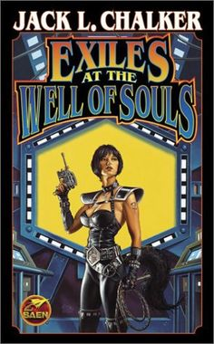 CLYDE CALDWELL - Exiles at the Well of Souls by Jack L. Chalker - 2003 Baen Books