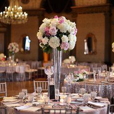 #providencebiltmore #grandballroom #mrandmrsgambee #wedding #centerpiece @celticsgal