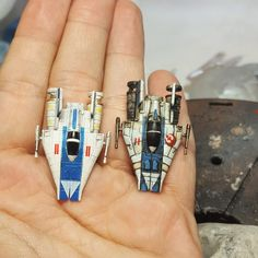 Stock A-Wing vs. my A-Wing (work in progress) [Repaint] - Imgur