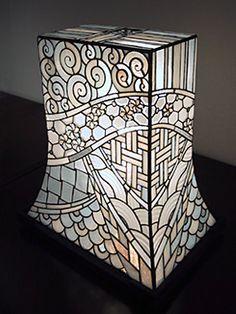 atelier SUETOMO ランプ06 末友 章子のステンドグラス