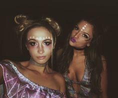 Rave Girls / Rave Makeup / Rave Outfit