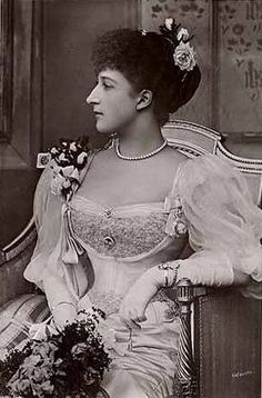 HM Queen Maud of Norway (1869-1938),  Princess Maud (Maud Charlotte Mary Victoria (1869-1938) of Wales, UK. 5th child of Edward VII (1841-1910) & Alexander of Denmark (1844–1925).