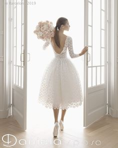 Civil Wedding Dresses, Lace Wedding Dress, Tea Length Wedding Dress, Sexy Wedding Dresses, Bridal Dresses, Wedding Gowns, Girls Dresses, Flower Girl Dresses, Fall Wedding