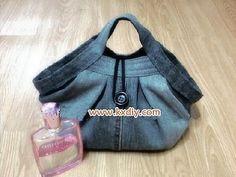 DIY Used Jeans Handbag