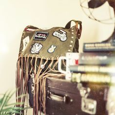 Odd Molly | FW14 | Roadtrip | Military bag with patches | www.oddmolly.com