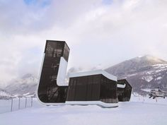 SAG - Airport Building in Mestia - J. Mayer H. Architects