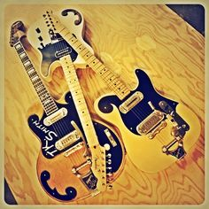 Two Telecasters and a Bigsby  www.tksmith.net by TK Smith, via Flickr