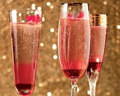 Adding The Finishing Touch: Rose Petal Bellini