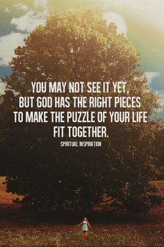 Puzzle of your life