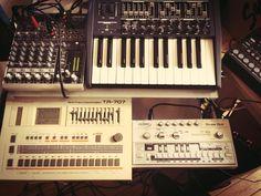 Acid set up
