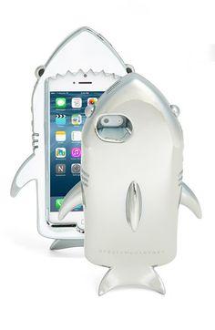 Stella McCartney Metallic Shark iPhone 6 Case available at #Nordstrom