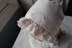 baby bonnets - Google Search