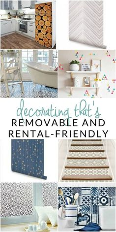 Try one of these genius damage-free and rental-friendly products for cute apartment decor today! Customize your rental & keep the landlord happy! home decor rental 8 Removable Products for your Rental - Cute Apartment Decor - The Crazy Craft Lady Cute Apartment Decor, Apartment Living, Apartment Hacks, Apartment Makeover, Apartment Projects, Apartment Renovation, Cheap Apartment, Apartment Furniture, Apartment Interior