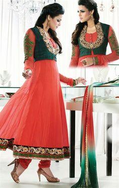 Radiant Pink Designer Wedding Suits VIVIO9605 - www.indianwardrobe.com