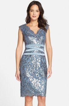 Light Blue Mother of the Bride Dresses | short blue mob dress