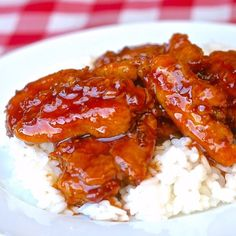 General Tso Chicken is a favorite Chinese take out dish that you can make even better at home & with less fat than the deep fried version. A TOP TEN recipe.