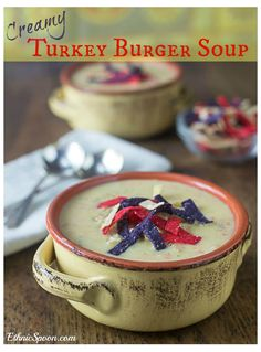 A creamy rich turkey