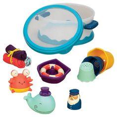Target - Baby B. Wee B. Splashy Bath Playset