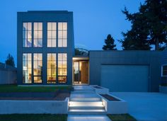A bright and spacious home in Seattle WA which is full of contemporary style via Classy Bro
