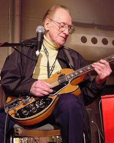 Solid body guitars, multitrack recording, inspiration... Les Paul inventor, innovator