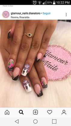 Glamour, Beauty, Short Nails, Nail Manicure, Fingernail Designs, Hands, The Shining, Beauty Illustration