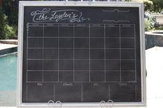 31 x 38 magnetic calendar and individual inspiration space Magnetic Calendar, Blank Calendar, Business Stationary, Custom Calendar, Half Walls, Busy At Work, How To Make Notes, Custom Framing, Modern Decor