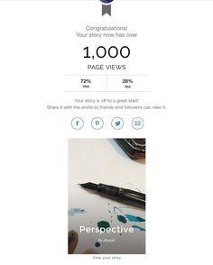 1000 views dalam dua belas jam awal itu menyenangkan :) .
