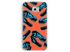 Dinosaur Phone Case, Samsung Galaxy S5 Case, S5 case, Dinosaur S5 Case, Case for S5, Jurassic Park, Plastic Phone Case, Skull Phone Case