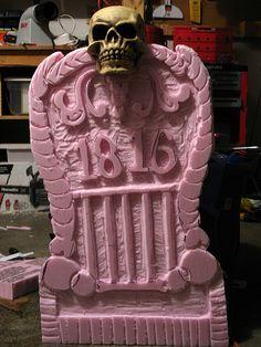 Halloween Tombstone Prop #4
