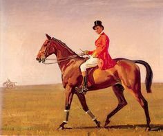 Sir Alfred James Munnings (1878-1959) - one of the best English artists depicting horses.