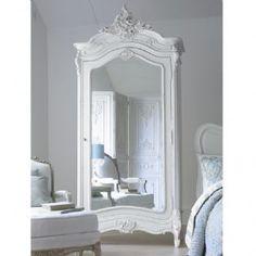 Versailles Mirrored Armoire <3
