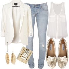 """Night out w/the girls"" by kimrodgers on Polyvore"