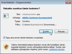 Adobe - Asenna Adobe Acrobat Reader DC.
