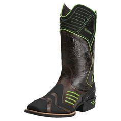 Ariat Western Boots Mens Cowboy Catalyst VX 9 D Thunder Brown 10014045