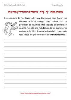 Learn Spanish For Adults Teachers Code: 9989101208 Writing Strategies, Writing Resources, Writing Activities, Writing Prompts, Spanish Teaching Resources, Spanish Lessons, Learning Sight Words, Writing Exercises, How To Speak Spanish