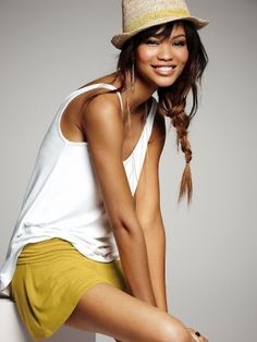 Chanel Iman for Victoria's Secret April 2012 lookbook