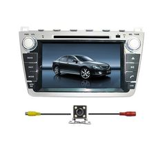 Special Offers - BlueLotus In-dash 8 Touchscreen DVD GPS Navigation for Mazda 6 2009 2010 2011 2012 2013 w/ Tv Radio Bluetooth Steering Wheel Control RDS Sd/usb  Av  Reverse Car Rear Camera  Free USA Map - In stock & Free Shipping. You can save more money! Check It (August 10 2016 at 07:38AM)…