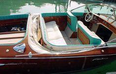 riva aquarama wood classic cockpit boat photo