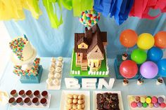 Awesome UP party theme!