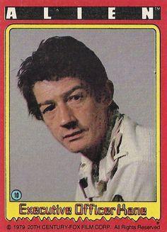 "#10 ""Executive Officer Kane"" -- ALIEN trading cards (1979, Topps)"
