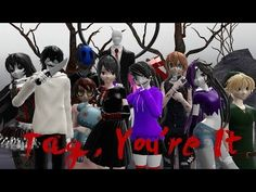MMD- Tag, You're it -Yandere Simulator - YouTube Yandere Simulator, Deviantart, Videos, Tags, Instagram, Youtube, Anime, Music, Creepypasta Characters