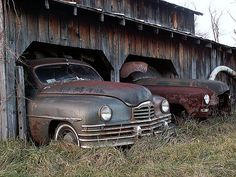 1950 Packards My uncle used to restore Packards.