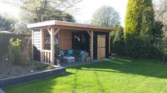 douglas veranda met berging 600x300 - www.budgethoutbouw.nl