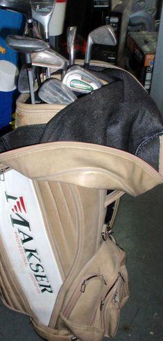 Material deportivo GOLF Juego de palos de golf - 10 palos con bolsa