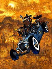 Los Compadres Muertos by David Lozeau