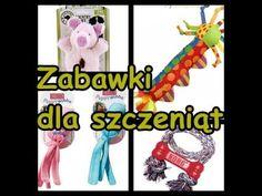 Zabawki dla szczeniąt