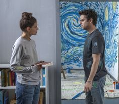 Katie Holmes and Luke Kirby play mentally ill lovers in 'Touched With Fire.'