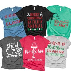 Xmas Shirts, Fall Shirts, Summer Shirts, Tee Shirts, Christmas T Shirt Design, Christmas Pjs, Christmas Humor, Christmas Baking, Funny Christmas Movies