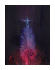 Rise of an Angel (Giclee and Silkscreen Signed Limited Edition of 50) by Jake Wood-Evans