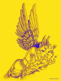 Shiva Art, Ganesha Art, Lord Ganesha, Pencil Art, Pencil Drawings, Sri Ganesh, God Tattoos, Digital Portrait, Rangoli Designs